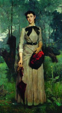 Portraits Victoriens, Fashion Portraits, Victorian Portraits, Art Nouveau, Art Template, Expositions, Portrait Inspiration, French Artists, Female Portrait