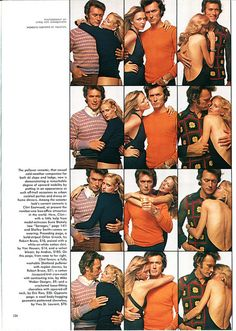 Clint Eastwood, Playboy, March 1972