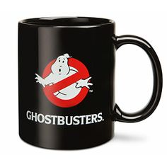 "To be a Ghostbuster, you must adhere to the motto: ""I ain't afraid of no ghost,"" which as lovers of language, we can't bring ourselves to say. But we do enjoy busting ghosts when busting is required, and drinking our coffee out of this sweet mug."
