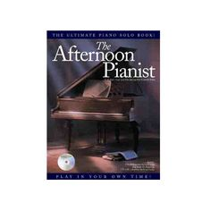 Afternoon Pianist Book/CD. Keyboard diagrams to show you where to put your fingers in order to play the left-handed chord accompaniments, and fingering suggestions for your right hand. $44.95