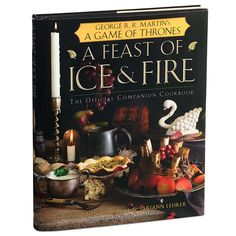 Game of Thrones cook books...I'm contemplating buying this...it would definitely be an interesting dinner party :)