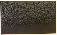 Alberto Burri, Grande cretto nero, 1977
