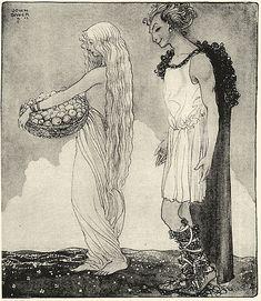 Loki and Idun - John Bauer