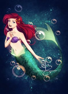 Princess Ariel by UNIesque.deviantart.com on @DeviantArt