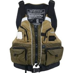 The new fishing PFD from NRS has pockets stacked on pockets for almost unlimited storage. The roomy front-entry design with 8 adjustment points let you customize the fit for comfort and security. Kayak Equipment, Fly Fishing Equipment, Kayaking Gear, Camping Gear, Canoeing, Fishing Vest, Kayak Fishing, Wilderness Systems, Fly Reels
