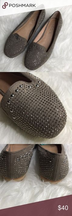 {Aldo} Studded Loafer Flats 😻 The perfect spring shoe! Brand new. Just shows some marks underneath the front of the shoes. Pointing out for attention. Aldo Shoes Flats & Loafers