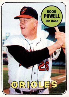 #15 Boog Powell - Baltimore Orioles