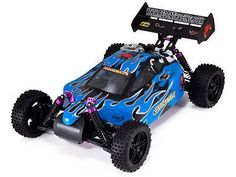 nice Shockwave RC Nitro Remote Control Buggy 110 Scale Redcat - Great Starter Nitro - For Sale