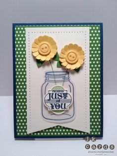 """Stampin' Up!, CCMC 214, Perfectly Preserved, Friendship Preserves, Cannery Framelits Dies, Window Frame Collection Framelits Dies, Essentials Paper-Piercing Pack, Paper-Piercing Tool, 1 1/4"""" Scallop Circle Punch, 1"""" Circle Punch, Be of Good Cheer DSP, Vellum Card Stock, Brights Collection Designer Buttons"""