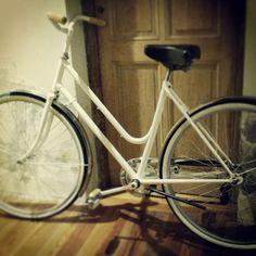Bicicleta Bianchi de los '80, espléndida al día de hoy!!