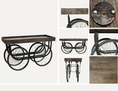 Isn't this console table just great? So many uses in so many places! Find more great #industrial pieces online! www.antiquesdirect.ca