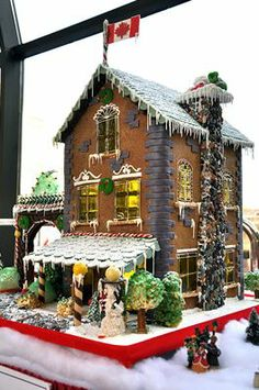 Gingerbread House (by Chateau Laurier)