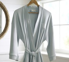 Organic robe- monogrammed. Perfect mothers day gift. From Pottery Barn  Perfect Mother s Day 838a5ee37fd