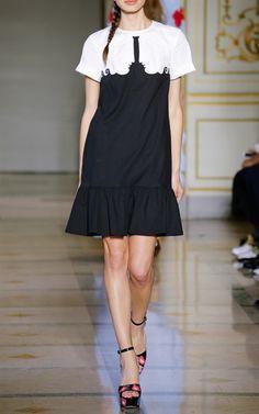 Sara Embroidered Dress by Vivetta for Preorder on Moda Operandi