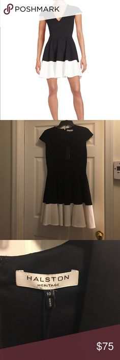 Halston Heritage Dress Brand new beautiful Halston Heritage Dress!!! Halston Heritage Dresses