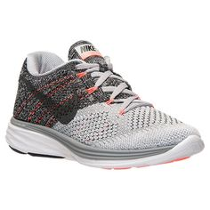Women's Nike Flyknit Lunar 3 Running Shoes - 698182 009 | Finish Line