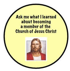 What I learned about becoming a member of the Church of Jesus Christ Primary Talks, Lds Primary, Jesus Christ, How To Become, Faith, Printables, Teaching, Books, Fun
