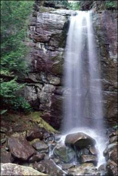 Bad Branch Falls -- a good hike and worth it when the weather has been raining; near Whitesburg, Kentucky