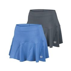 Feel gorgeous and confident in the Wilson Women's Spring Shape 12.5-Inch Tennis Skirt. Built-in compression shorts provide stability and modesty without having to worry about finding the right pair - Wilson has done the work for you! The fashionable stitch pattern creates flounce and movement so it moves with you in dynamic play.