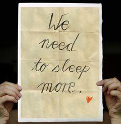 who needs sleep? me.