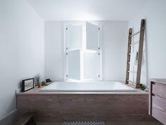 Steal This Look: A London Bathroom Clad in Premium Scandinavian Wood