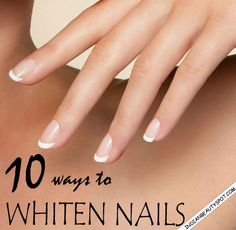Dark nail polishes can leave behind a yellow stain on nails, specially if you have skipped the base coat. To whiten and brighten the nails,...