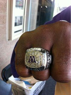 2010 UW Holiday Bowl Ring