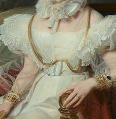 Arte, dettagli, veli, sensualità e ingenuità ! Art, details, veils, sensuality and naivety! Queen Maria Amalia of France