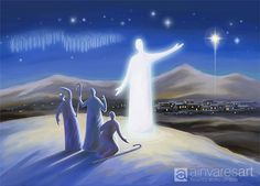 Angel proclaims the good news