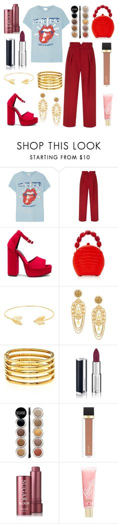 """""""That 70s Style with Rolling Stones"""" by grace-ooi ❤ liked on Polyvore featuring MadeWorn, RED Valentino, Jeffrey Campbell, Nancy Gonzalez, Lord & Taylor, Dolce&Gabbana, Kenneth Jay Lane, Givenchy, Giorgio Armani and Jouer"""