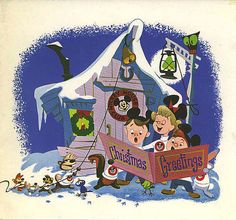 Disney Christmas 1955