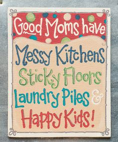 Another great find on #zulily! 'Good Moms' Magnet #zulilyfinds