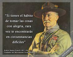 Robert Baden-Powell, fundador del Movimiento Scout Mundial.