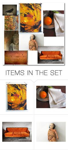 """Memories of autumn"" by annbrauer ❤ liked on Polyvore featuring art, vintage, lindavoth, sumertadesigns, laughingdogstudios, aclhandweaver and levchukarts"