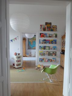 Estante para cuentos, decoración infantil