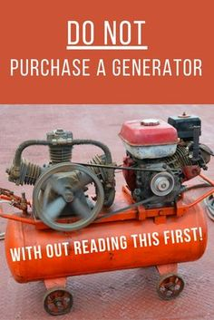 Don't Purchase a Generator With Out Reading This First - A generator will keep…
