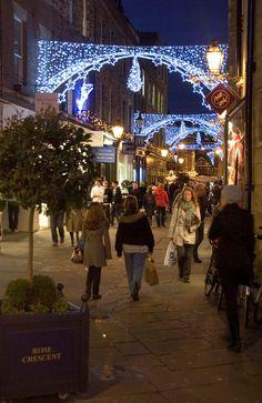 Christmas in Cambridge, England