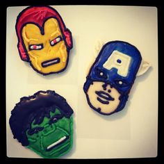 Assemble The Avengers in your oven with these fun super hero cookie cutters!