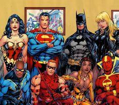 Justice League - Jim Lee art