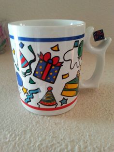 Check out this item in my Etsy shop https://www.etsy.com/listing/235074815/unique-happy-birthday-spinners-mug-art