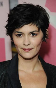 Audrey Tatou.  So frickin adorable.  It's very hard to remember that this cut will not make me have Audrey Tatou's face.