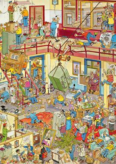 Please visit our website for Where's Waldo Pictures, Wheres Wally, Picture Composition, Safety Posters, Picture Writing Prompts, Ligne Claire, Puzzle Art, Hidden Pictures, Cartoon Art Styles