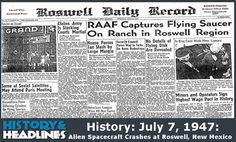 a history of the roswell incident in the united states A history of the roswell incident, the most documented ufo sighting 1,475 words an analysis of the roswell incident and the united states area 51 1,730 words.