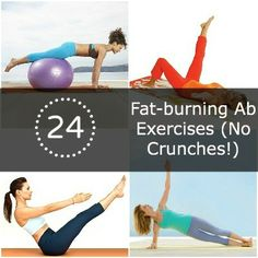 You'll LOVE these quick-and-easy fat-burning ab exercises! #workout #fitness | Health.com