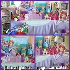 Decoration sofia the first ... Sofia la princesita .... BY Lovely ideas