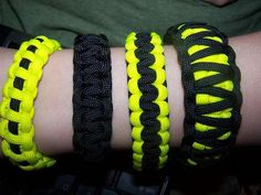Survival bracelet how to