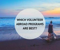 We may be biased, but we're honest... #volunteer #travel