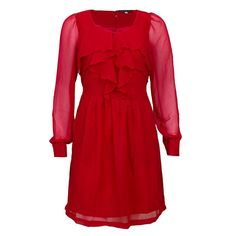 Pepe+Jeans+Kleid+Sharon+Flame+Red