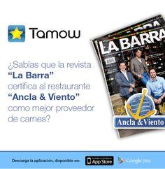 """Les #Recomendamos celebrar el """"Día de la Mujer"""" en Ancla & Viento un excelente restaurante certificado por la Revista La Barra. #Califica su servicio con Tamow."""