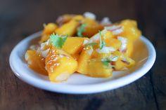 Mango Salsa Salad | Day 24 of 31 Days of Salad Healthy Living Recipes, Healthy Dishes, Fruit Recipes, Salad Recipes, Side Dish Recipes, Side Dishes, Salsa Salad, Mango Salsa, 31 Days